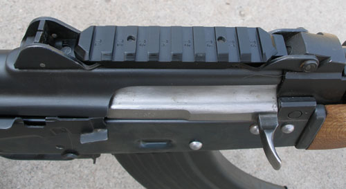 Railed handguard
